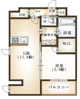 カーネ米山 1LDK(B) 最終最終最終.JPG