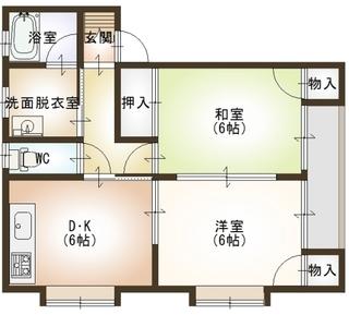 ハイツうるおい�T1号室.JPG